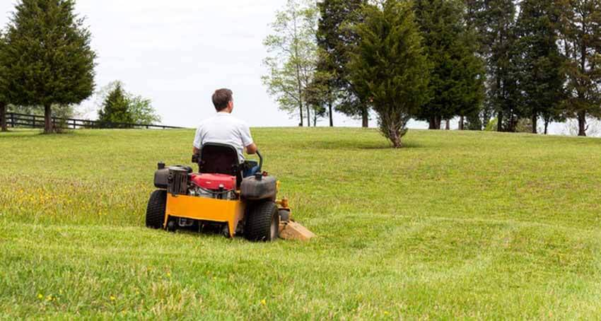 How to use a Zero Turn Mower on a hill properly
