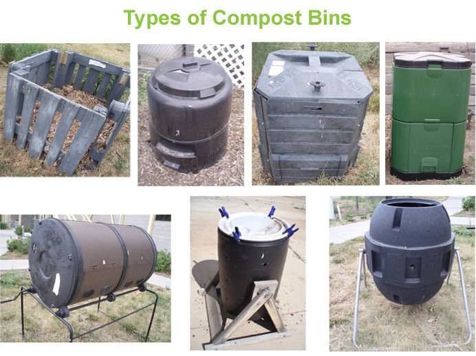 Types Of Compost Bins