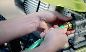 how to remove garden hose from pressure washer