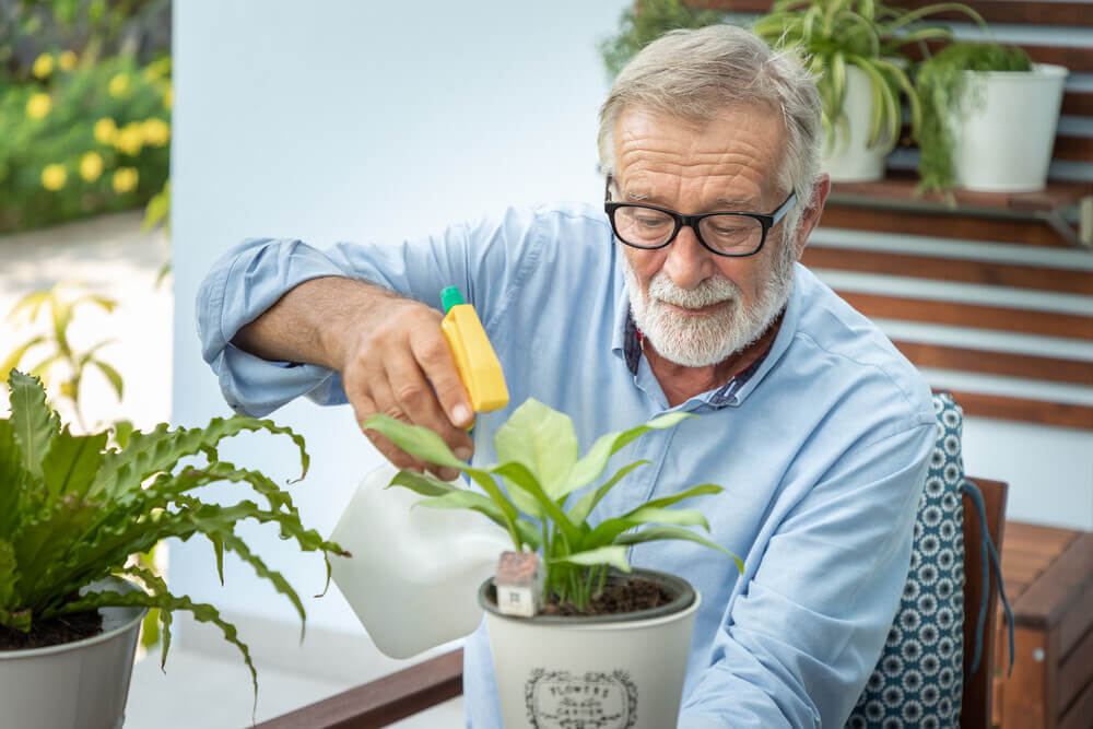 Why should old people engage in gardening