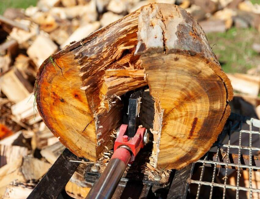 The Best Log Splitter for 1 Person
