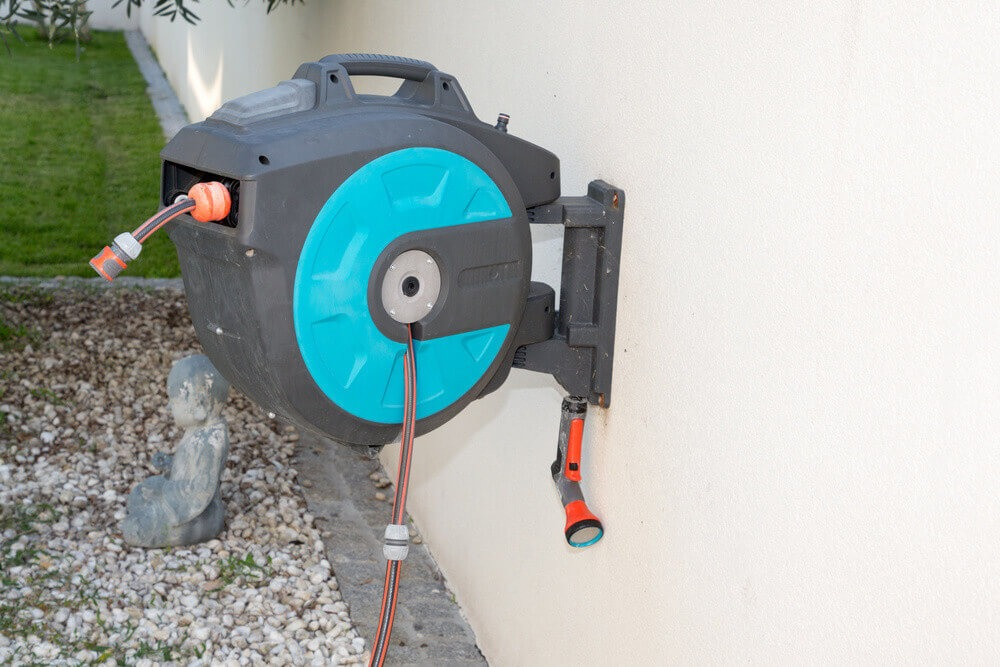 What is a retractable hose reel